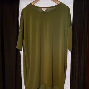 LuLaRoe green tunic/shirt/dress